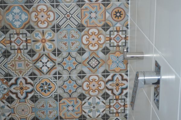 Newcastle bathroom tiles