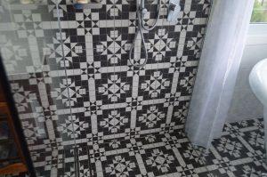 mount vincent bathroom tiling detail