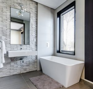 remodelled bathroom in newcastle