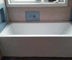 Bath installation - bathroom renovation newcastle