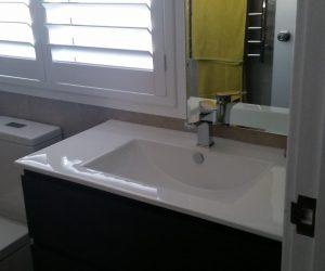 En-suite basin - en-suite renovations Newcastle