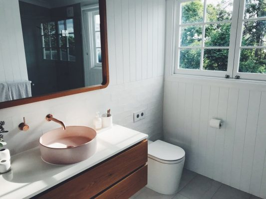 renovated bathroom in newcastle